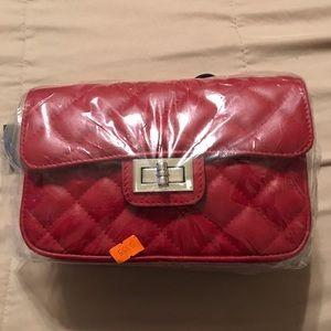 Handbags - Leather Quilt Flap Fannypack